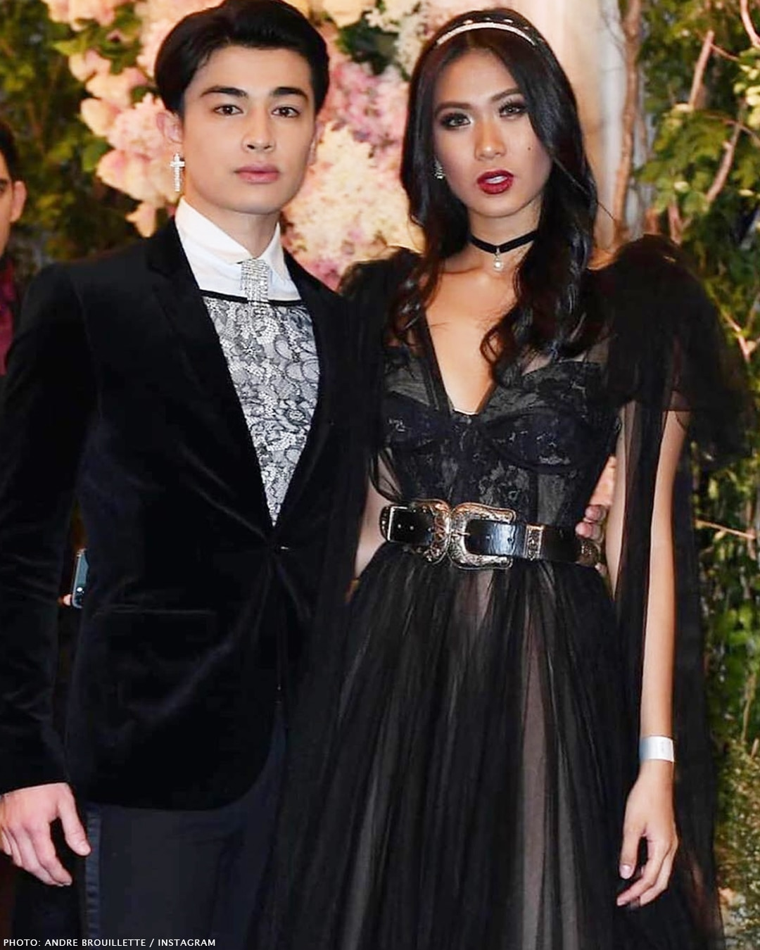 Lou Yanong and Andre Brouillette