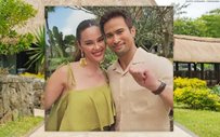 Catriona Gray shares photo with Sam Milby for the first time; teases project together