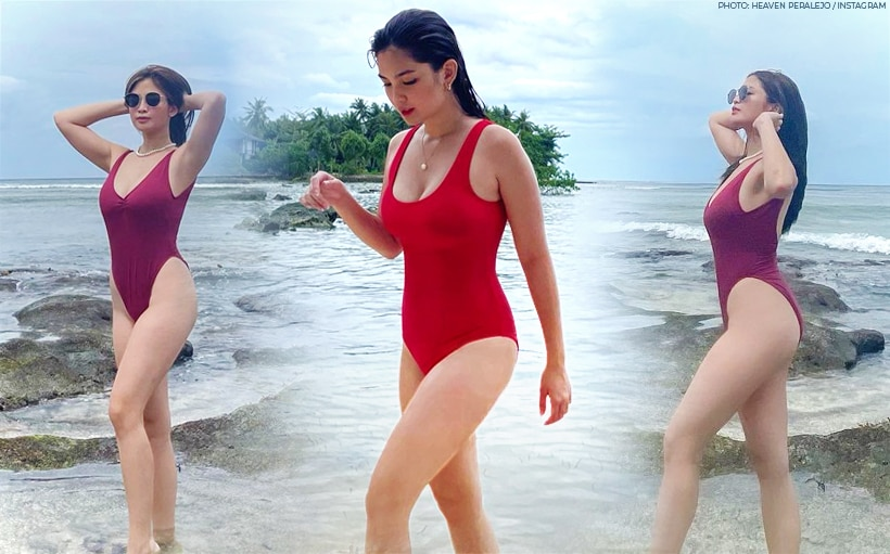 PHOTOS: Heaven Peralejo turns up the heat in Siargao