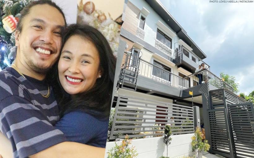 LOOK: Lovely Abella, Benj Manalo finally move into their dream home