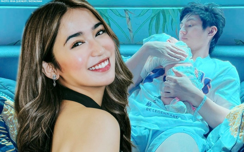 'My world': Riva Quenery welcomes baby girl