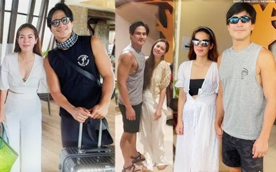 PHOTOS: Piolo Pascual, Shaina Magdayao spotted getting cozy in Bohol