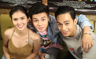 Sofia, Diego, and Ronnie at the 'Bloody Crayons' Digital Conference 1