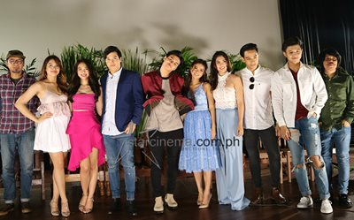 The 'Bloody Crayons' cast at their Grand Media Launch