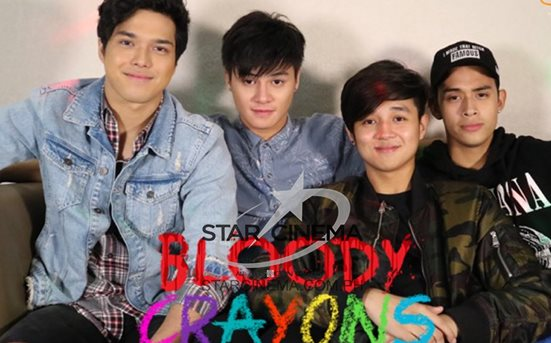 Boys surely do know how to have fun at the #BloodyCrayonsSCChat2