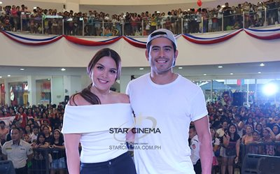 'Can We Still Be Friends' cast at Star Mall San Jose Del Monte