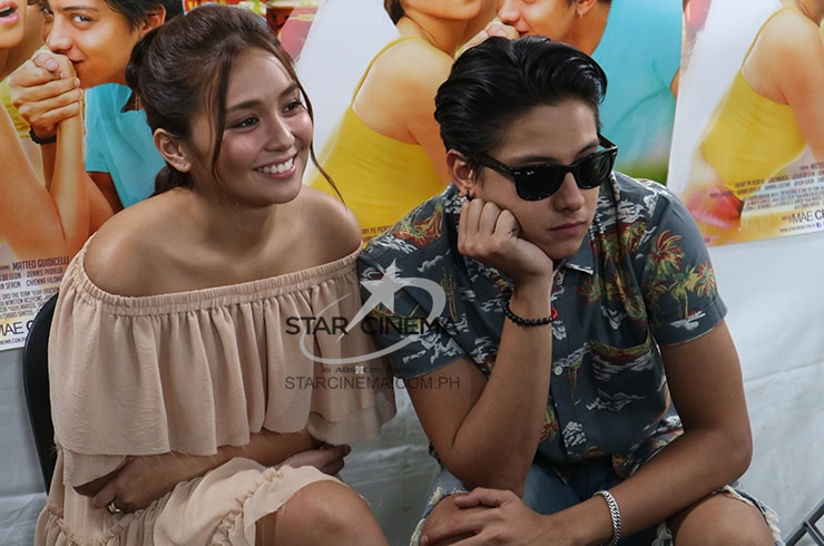 KathNiel Star Cinema Chat 1