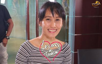 Direk Giselle Andres at 'Loving in Tandem' bloggers conference