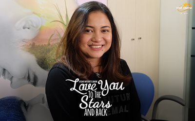 Direk Antoinette Jadaone at the 'Love You to the Stars and Back' bloggers conference