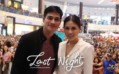 Piolo and Toni serenade their supporters at 'Last Night' SM City Rosario mall show
