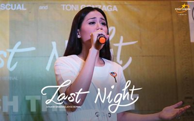 Toni G at 'Last Night' SM San Mateo mall show