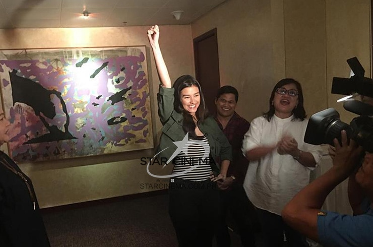 "Liza Soberano at the ""Darna"" reveal 4"