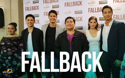 Celebs gather at 'Fallback' special screening