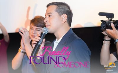 John Lloyd graces Vietnam screening of 'Finally Found Someone