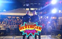 Daniel at Pia entertain the crowd at Glorietta 4 for 'The Revenger Squad'