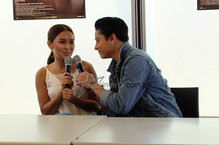 KathNiel at the 'La Luna Sangre' Bloggers Conference 1
