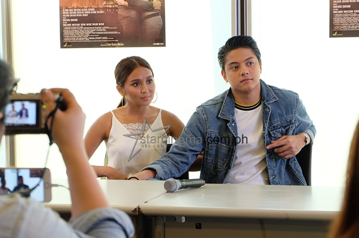 KathNiel at the 'La Luna Sangre' Bloggers Conference 2