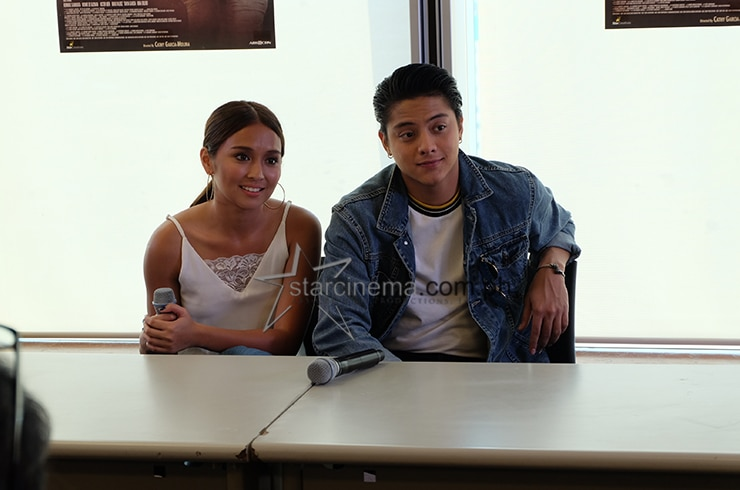 KathNiel at the 'La Luna Sangre' Bloggers Conference 5