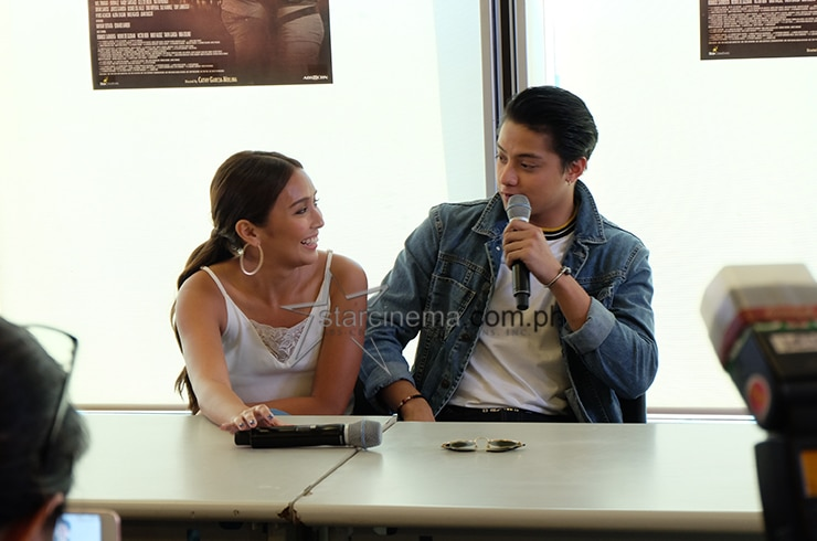 KathNiel at the 'La Luna Sangre' Bloggers Conference 8
