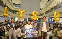 The #AlienSquad at 'LYSB' Ayala Fairview Terraces mall show
