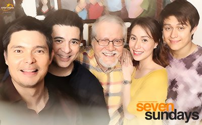 It's a happy family in these 'Seven Sundays' publicity photos