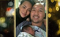 Erika Padilla gives birth to a healthy baby boy