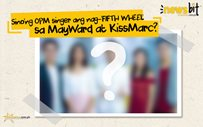 Sino'ng OPM singer ang nag-'FIFTH WHEEL' sa MayWard at KissMarc?