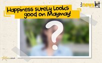 Happiness surely looks good on Maymay!
