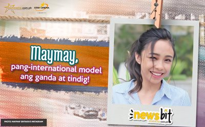 Maymay, pang-international model ang ganda at tindig!