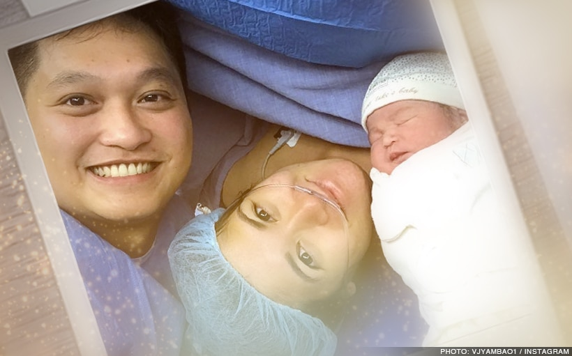 Camille Prats gives birth to a beautiful baby girl | Star Cinema