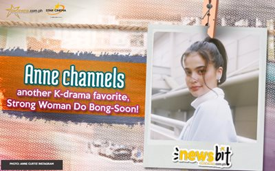 Anne channels another K-drama favorite, Strong Woman Do Bong-Soon!