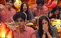 ElNella takes on the Spicy Noodle Challenge