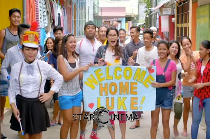 Luke receives a warm welcome from his fam in the PH!