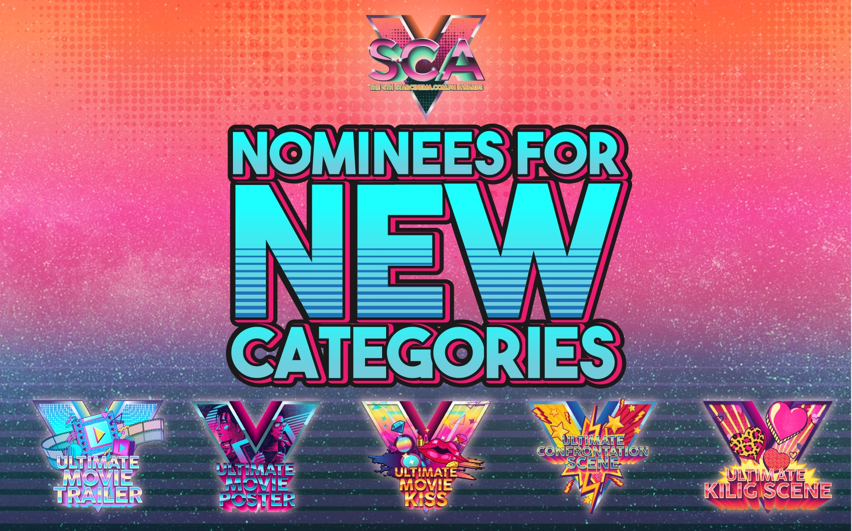 #SCA5: Voting for the New Categories are now CLOSED