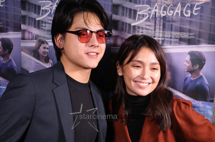 """The Hows of Us"" stars Kathryn Bernardo and Daniel Padilla also attended the Black Carpet!"