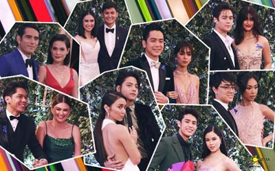 #ABSCBNBall2018: Fantastic love teams at the red carpet