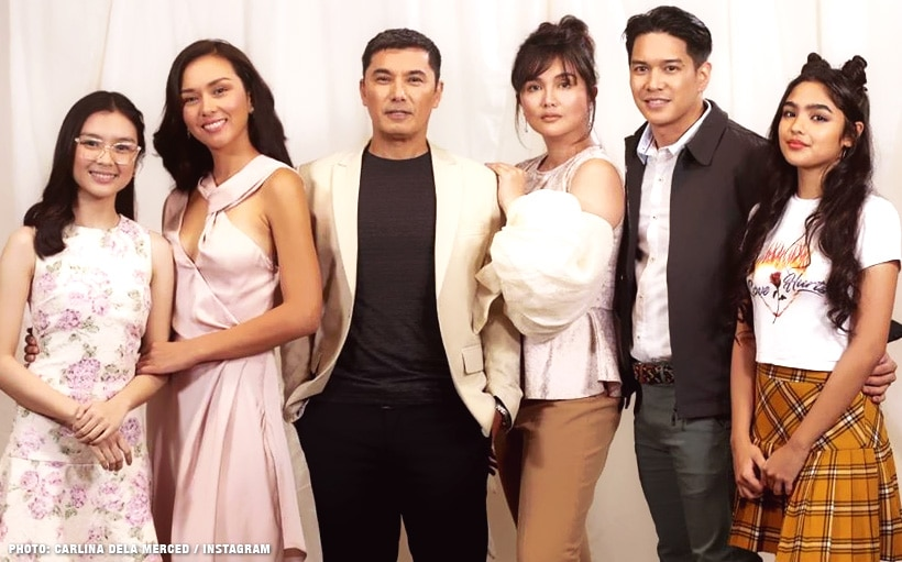 Here are some exclusive photos from the 'Kadenang Ginto' look test!