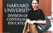 Toni on Harvard class: 'So grateful to be here'