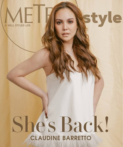 Claudine appears on the digital magazine cover of Metro.Style this month! 1