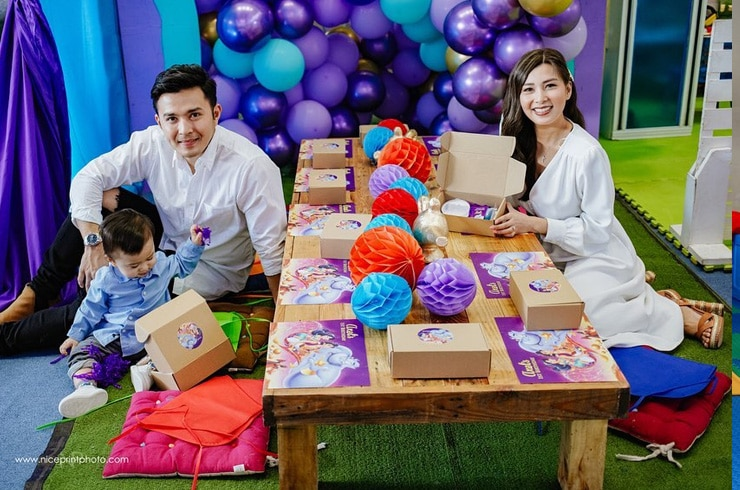 "Baby Axel's ""Aladdin""-themed first birthday party! 10"