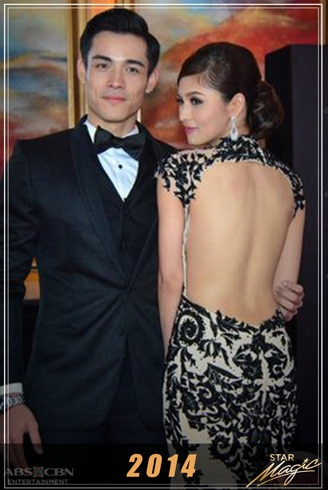 Kim and Xian's dazzling looks and outfits through the years 3
