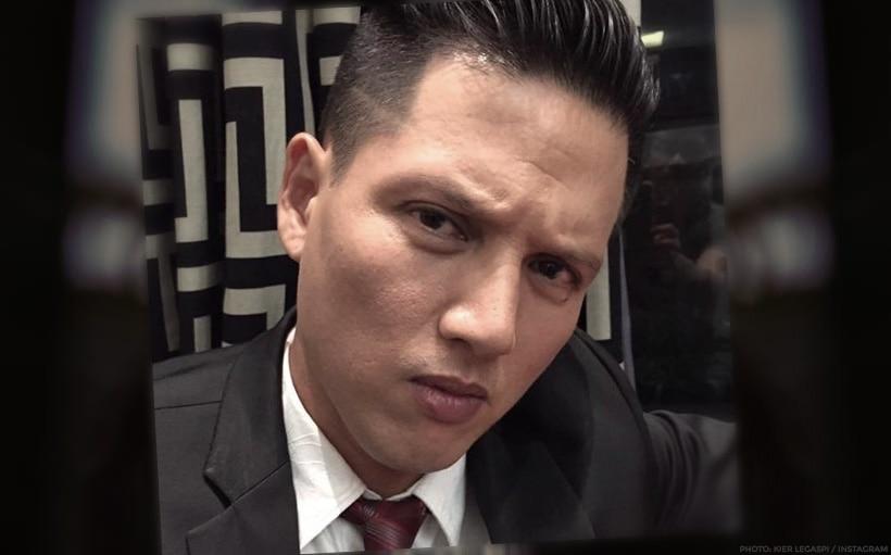 Kier Legaspi, mourning the death of father Lito Legaspi