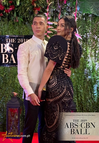 Jake Cuenca and Kylie Versoza