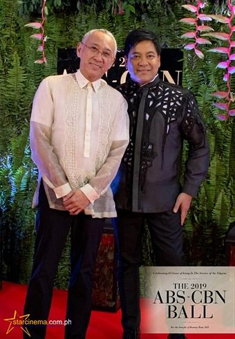 Louie Ocampo and Martin Nievera