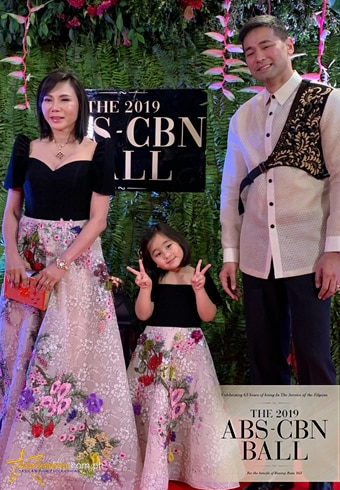 Hayden Kho and Vicki Belo with daughter Scarlet Snow Belo