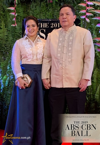 Sylvia Sanchez with husband Arturo Atayde