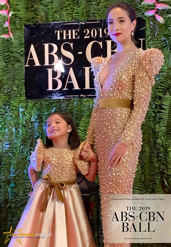 Cristine Reyes and daughter Amarah