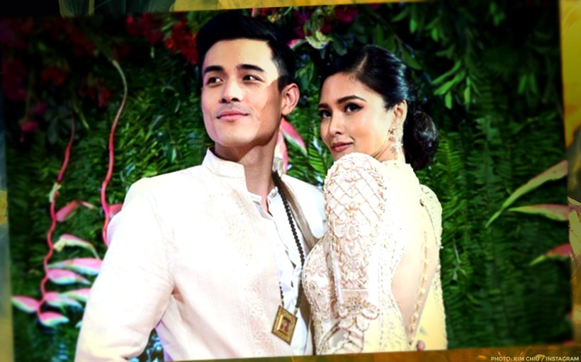 SWEET! Xian Lim effortlessly carries Kim Chiu bridal style at the ABS-CBN Ball 2019!