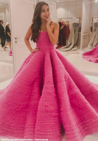 The gowns designed by Michael Cinco for Kathryn Bernardo 2