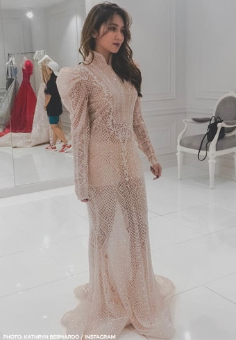 The gowns designed by Michael Cinco for Kathryn Bernardo 6
